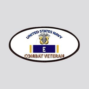 Navy E Ribbon - Cbt Vet Patch