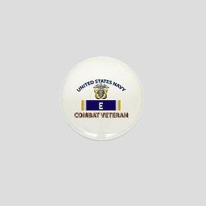 Navy E Ribbon - Cbt Vet Mini Button
