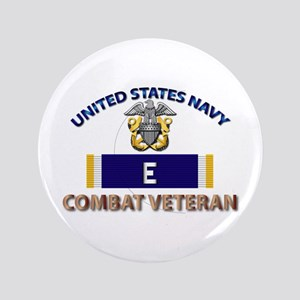 Navy E Ribbon - Cbt Vet Button