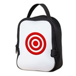 Bullseye_Red Neoprene Lunch Bag
