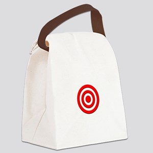Bullseye_Red Canvas Lunch Bag