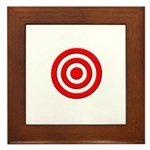 Bullseye_Red Framed Tile