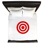 Bullseye_Red King Duvet