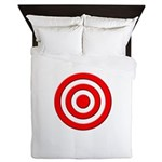 Bullseye_Red Queen Duvet