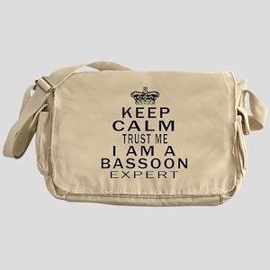 I Am Bassoon Expert Messenger Bag