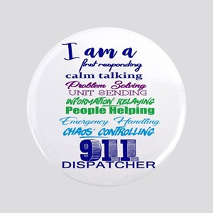 "911 Dispatch 3.5"" Button"