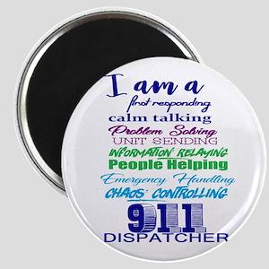 911 Dispatch Magnets