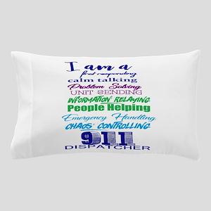 911 Dispatch Pillow Case