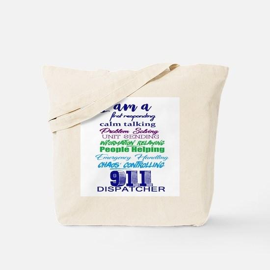 Cool 911 dispatcher Tote Bag
