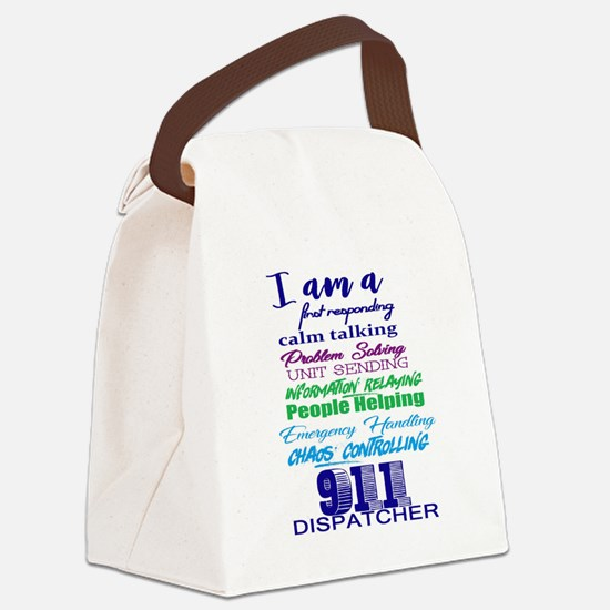 Cool 911 Canvas Lunch Bag