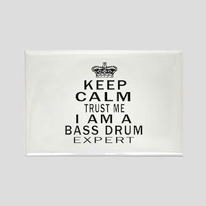 I Am Bass Drum Expert Rectangle Magnet