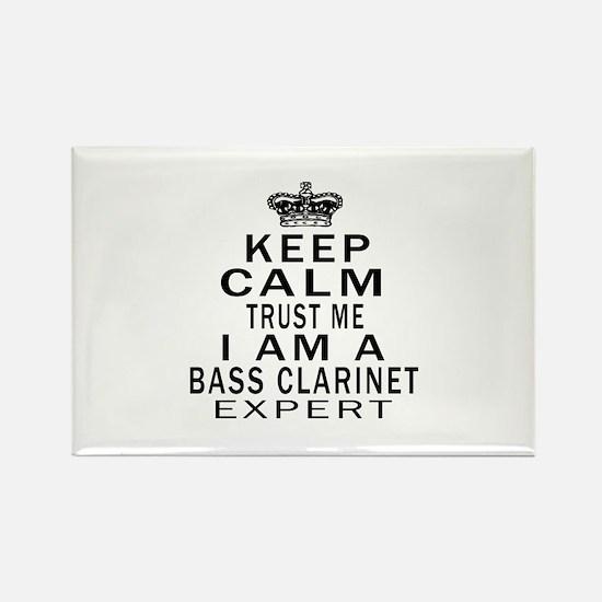 I Am Bass Clarinet Expert Rectangle Magnet