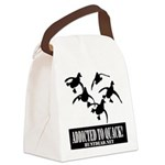 Addicted To Quack Canvas Lunch Bag