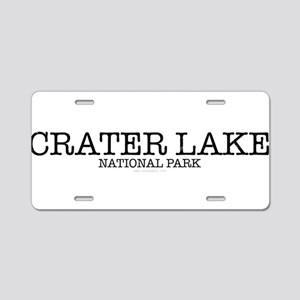 Crater Lake National Park C Aluminum License Plate