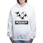 Addicted To Quack Women's Hooded Sweatshirt