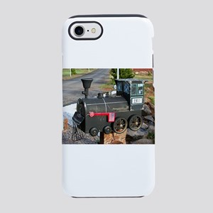 Old steam locomotive letter iPhone 8/7 Tough Case