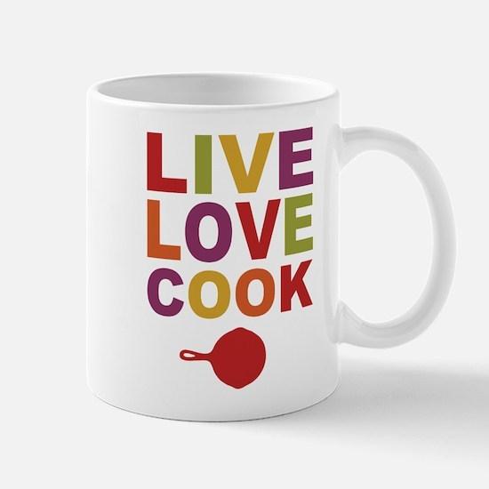 Live Love Cook Mug