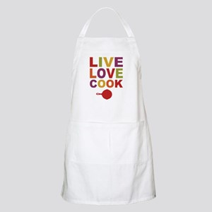 Live Love Cook Apron