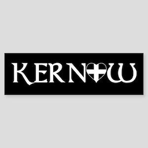 Heart in Kernow Bumper Sticker