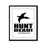 Hunt Dead Dove Framed Panel Print