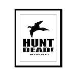 Hunt Dead Dove Framed Panel Print