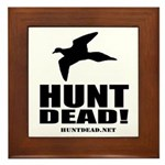 Hunt Dead Dove Framed Tile