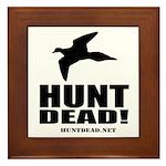 Hunt Dead Dove Framed Tile
