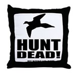 Hunt Dead Dove Throw Pillow