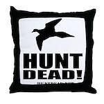 Hunt Dead Dove Throw Pillow