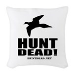 Hunt Dead Dove Woven Throw Pillow
