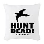 Hunt Dead Dove Woven Throw Pillow
