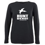 Hunt Dead Dove Plus Size Long Sleeve Tee