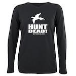 Hunt Dead Dove Plus Size Long Sleeve Tee