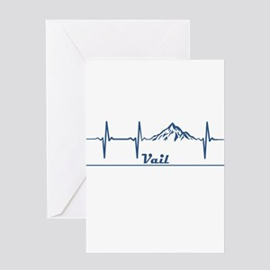 Vail Ski Resort - Vail - Colorado Greeting Cards