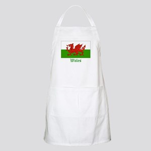 Wales Flag BBQ Apron