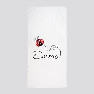 Ladybug Emma Beach Towel