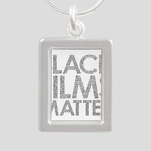 Black film Necklaces