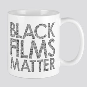 Black film Mugs