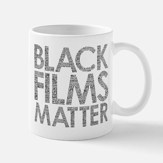 Black film Mugs