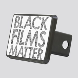 Black film Rectangular Hitch Cover