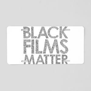 Black film Aluminum License Plate