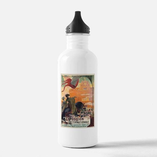 Vintage poster - Rome Water Bottle