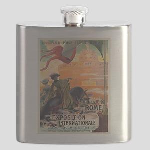 Vintage poster - Rome Flask