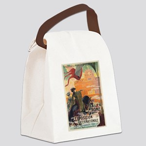 Vintage poster - Rome Canvas Lunch Bag