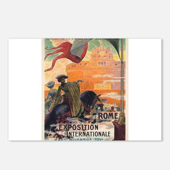 Vintage poster - Rome Postcards (Package of 8)