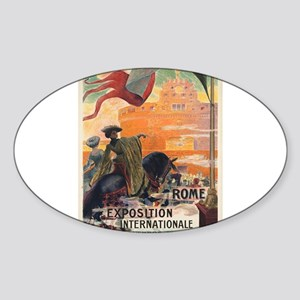 Vintage poster - Rome Sticker