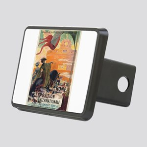 Vintage poster - Rome Rectangular Hitch Cover