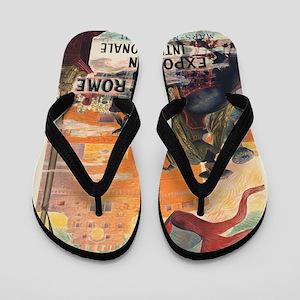 Vintage poster - Rome Flip Flops
