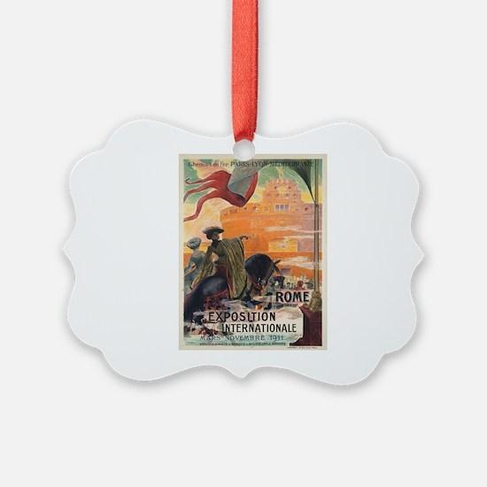 Vintage poster - Rome Ornament