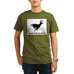Hunt Dead Deer Organic Men's T-Shirt (dark)
